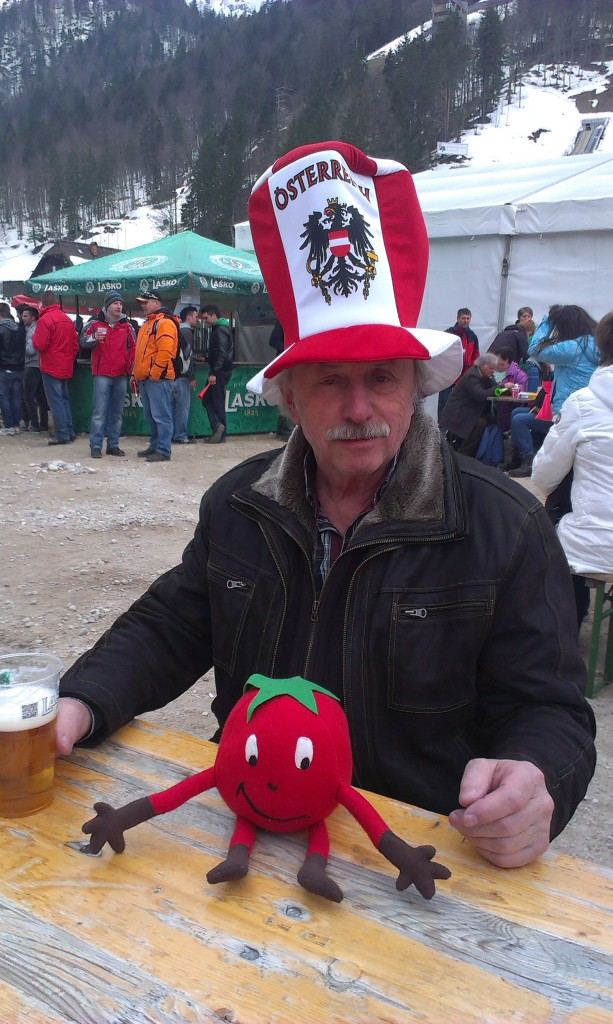 Dorči in navijač Avstrije