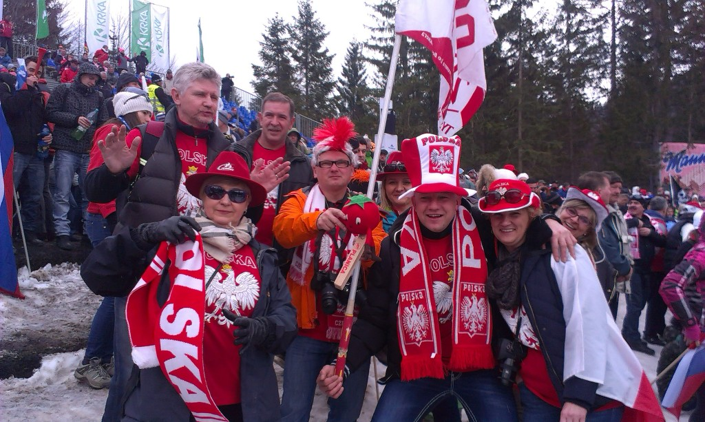 Dorči in poljski navijači