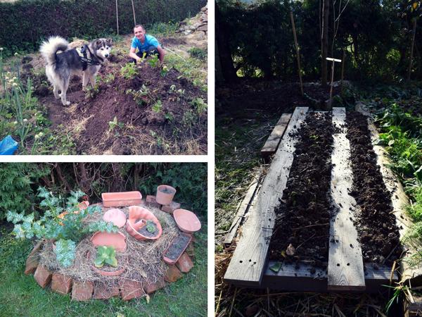 povečanje obdelovalne površine, grede, glinene posode na vrtu, uporaba opeke na vrtu, Vse kar potrebujete vedeti pred začetkom vrtnarske sezone