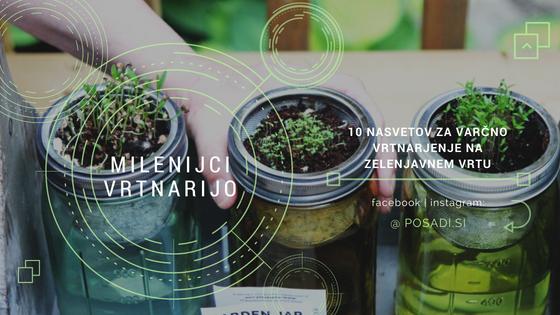 zelenjavni vrt mobilna aplikacija app