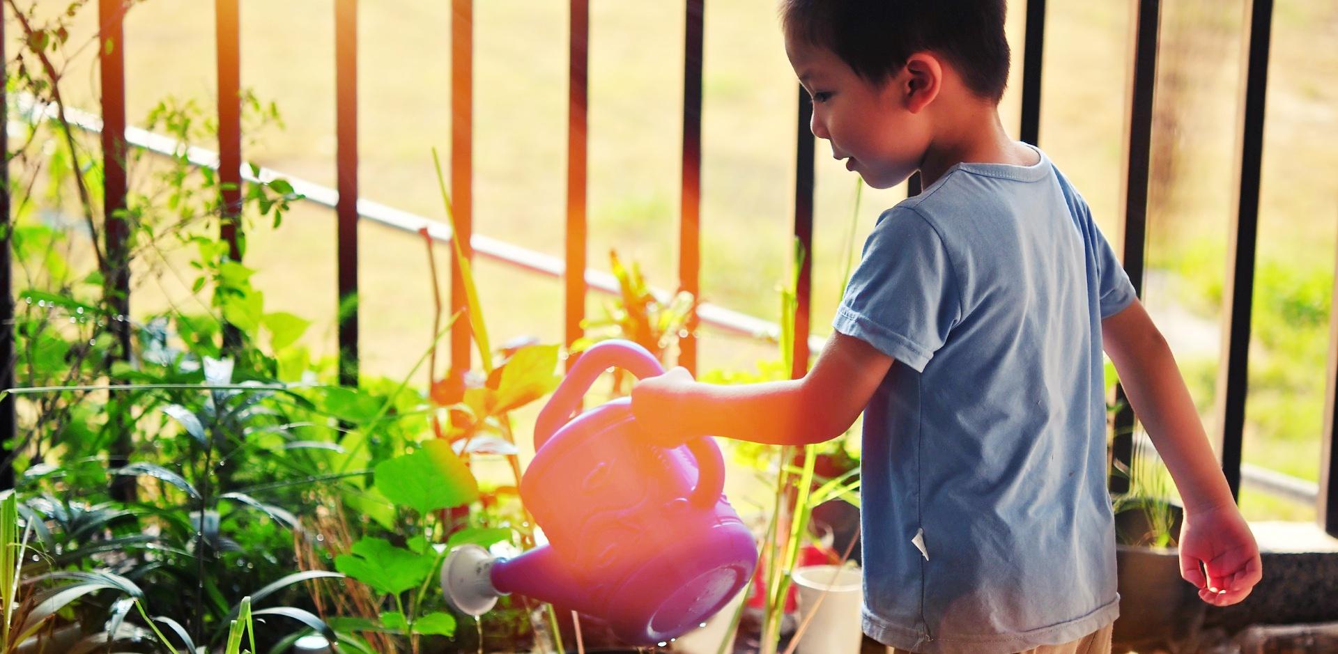 Otroci potrebujejo vrt. Da spoznajo svežo zelenjavo in sadje. Da tekajo po travi in se znorijo. Da se lahko skrivajo in iščejo zaklade. Da spoznavajo hrošče