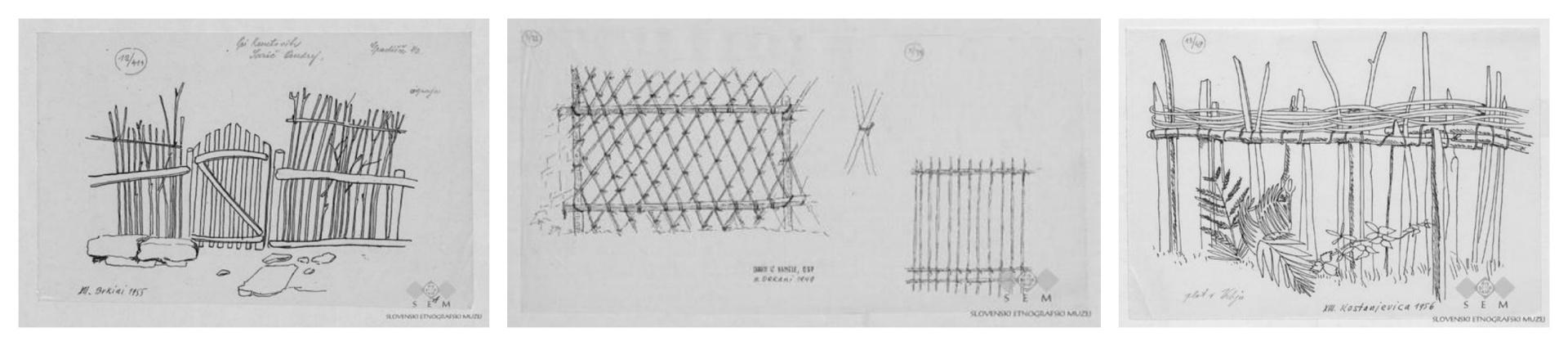 pletene ograje naredi sam ograja iz trsja