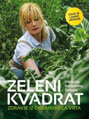 knjige o vrtu, knjiga o vrtnarjenju, zeleni kvadrat, vrtlarica, organski vrt