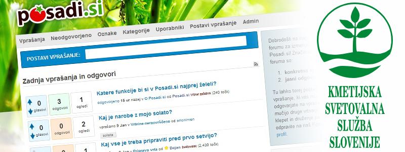Posadi.si forum. Vrtnarski forum, predstavitev,video navodila