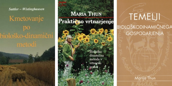 biodinamično vrtnarjenje - literatura